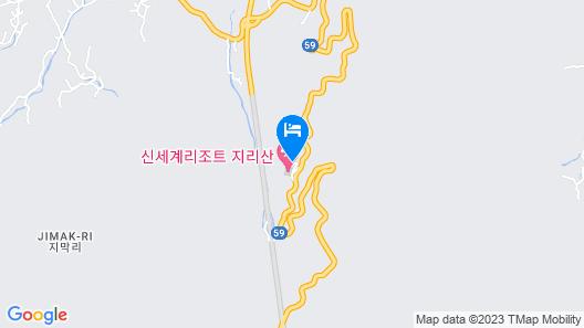 Jirisan Shinsegae Resort Map