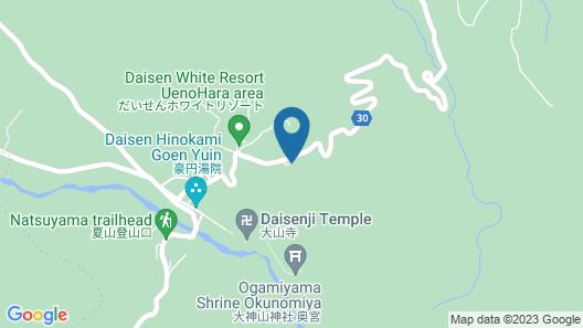 Daisen White Palace Map