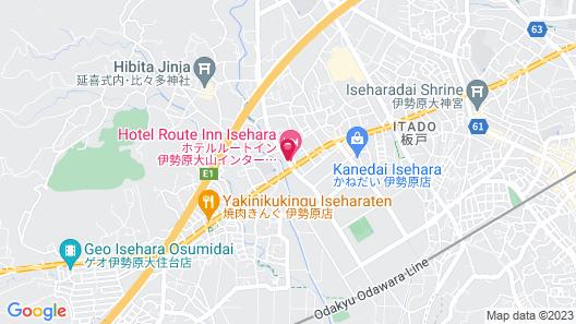 Hotel Route-Inn Isehara Ooyama Inter Map