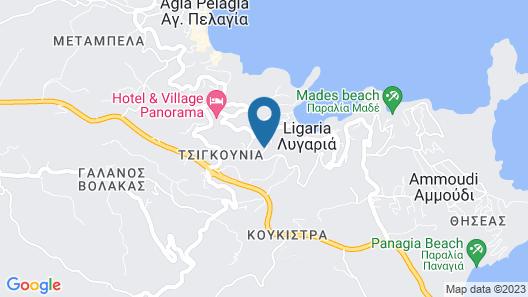 Villa Lygaria Map