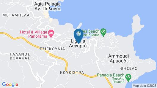Villa Omega Map