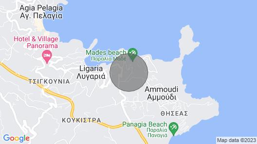 Steliana Υπέροχη θέα κοντά σε υπέροχες παραλίες Map