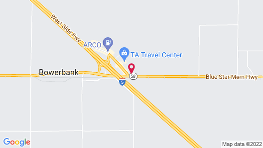 SureStay Hotel by Best Western Buttonwillow Map