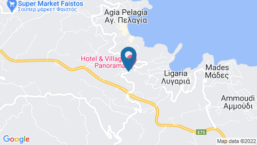 Pela Mare Hotel Map