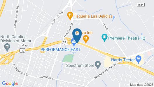 Days Inn by Wyndham Goldsboro Map