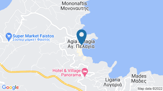 Cosmopolitan fashion hotel - Adults only Map