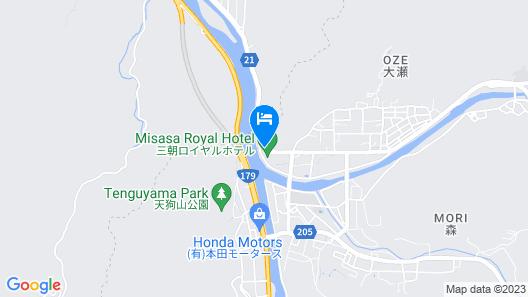 Misasa Royal Hotel Map