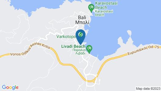 Sofia - Mythos Beach Aparthotel Map