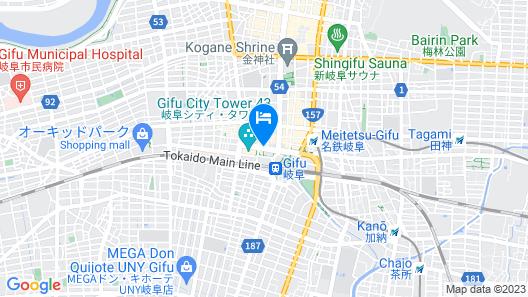 Comfort Hotel Gifu Map