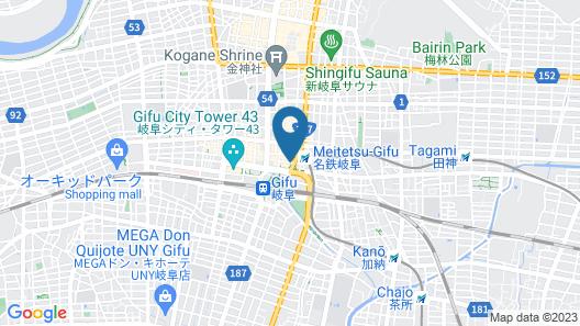 Hotel Il Credo Gifu Map