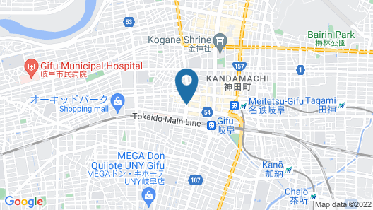 Dormy Inn Gifu Ekimae Natural Hot Spring Map
