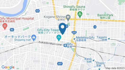 Hotel Resol Gifu Map