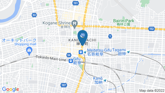 Daiwa Roynet Hotel Gifu Map