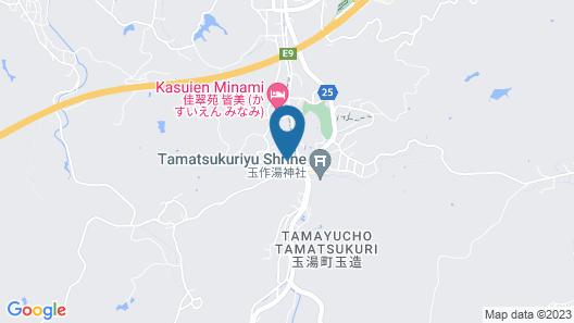 Ryotei Yamanoi Map