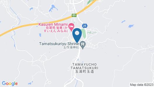 Tamatsukuri Grand Hotel Choseikaku Map