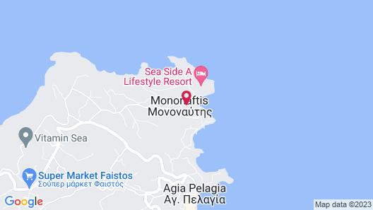 Sea Side Resort & Spa - All Inclusive Map