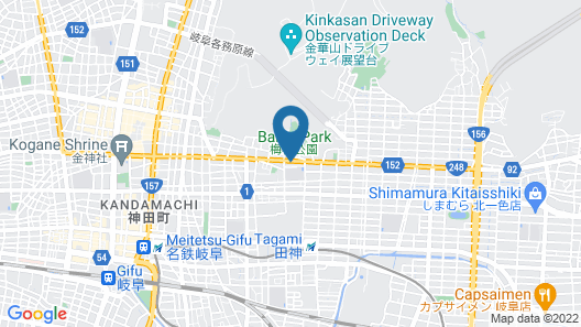 OYO Business Hotel Kanazono Gifu Map