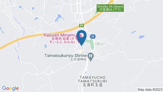 Matsunoyu Map