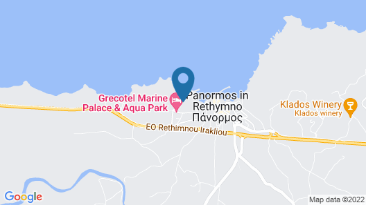 Grecotel Marine Palace & Aqua Park Map