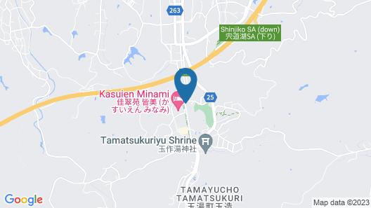 Onsen Guest House Aobato no Su Map