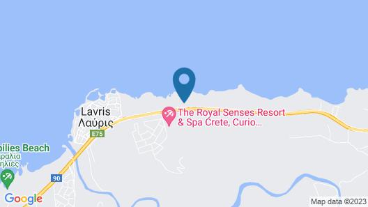 The Royal Senses Resort Crete, Curio Collection by Hilton Map