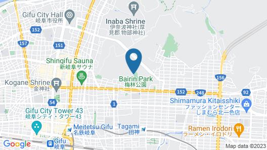Uetoh Ryokan Map