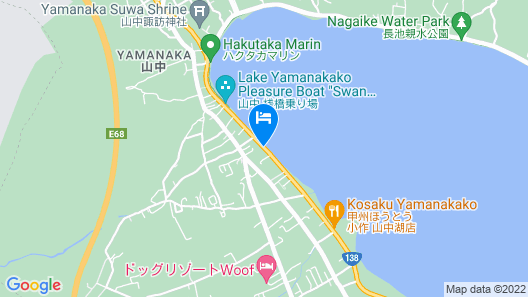 Fujimatsuzono Hotel Map