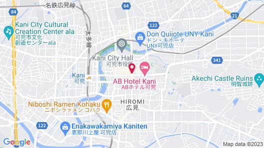 Hotel Route-Inn Kani Map