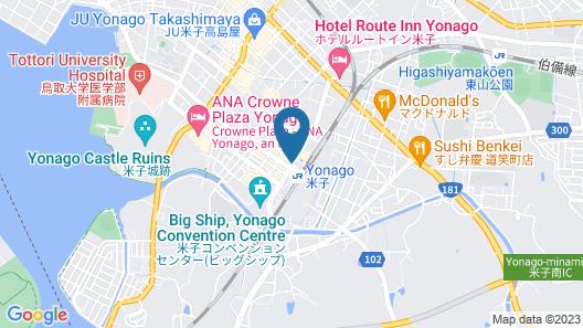 Yonago Washington Hotel Plaza Map