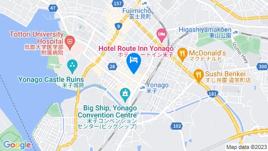 Green Rich Hotel Yonago Ekimae Map