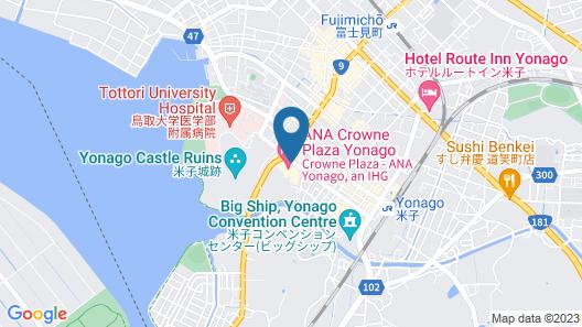 ANA Crowne Plaza Yonago, an IHG Hotel Map