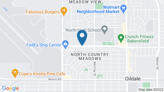 Whispering Meadows Apartments Map