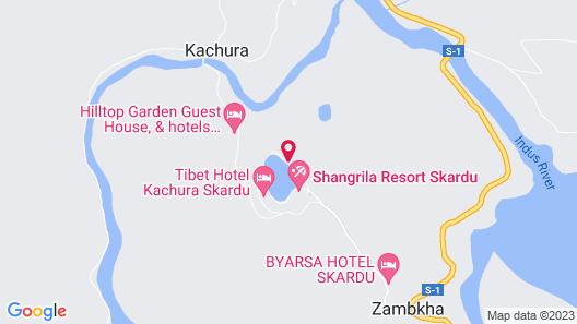 Shangrila Resort Hotel Map