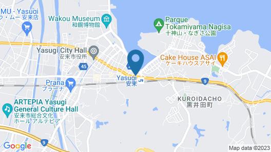 Ryokan Asahikan Map