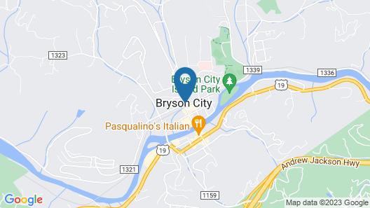 Bryson City Loft Map