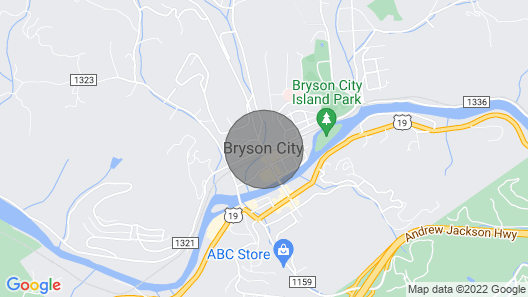 Biker, Family, and Pet Friendly. Bryson City NC Map