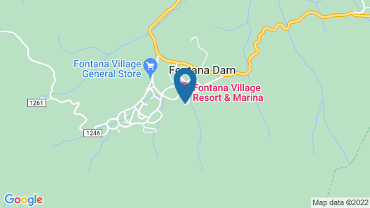 Fontana Village Resort Map