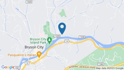 Rivers Edge 1 Bedroom Cabin Map