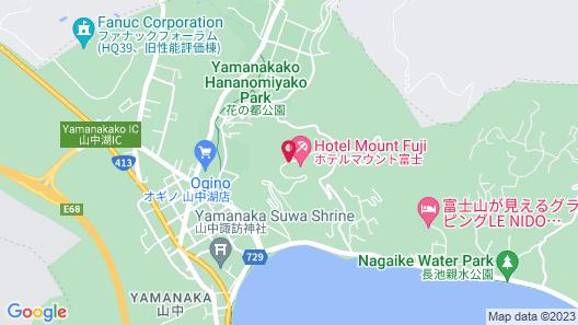 Hotel Mt. Fuji Map