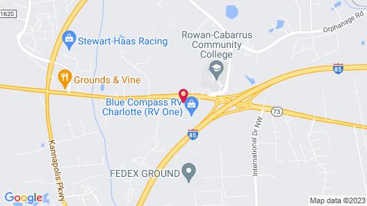 Days Inn by Wyndham Concord Map