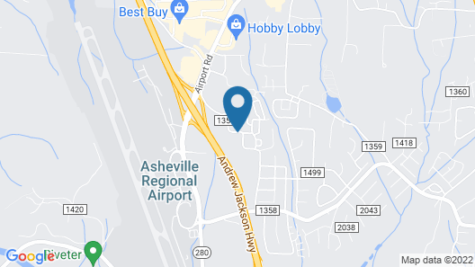 Fairfield Inn & Suites by Marriott Asheville Airport/Fletcher Map