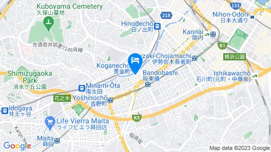 Hotel MyStays Yokohama Map