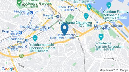 Simple Hotel Kyoei Map