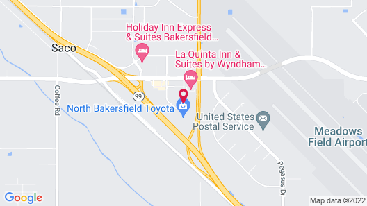 Fairfield Inn & Suites by Marriott Bakersfield North/Airport Map