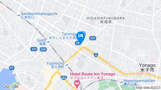 Smile Hotel Yonago Map