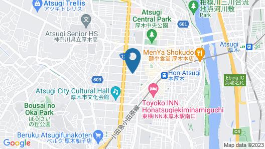 Smile Hotel Atsugi Map