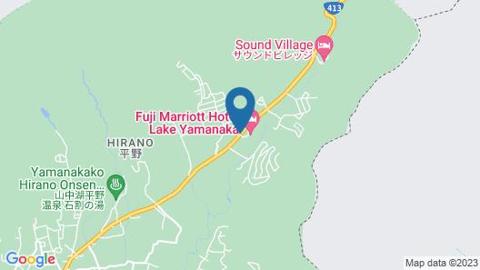 Fuji Marriott Hotel Lake Yamanaka Map