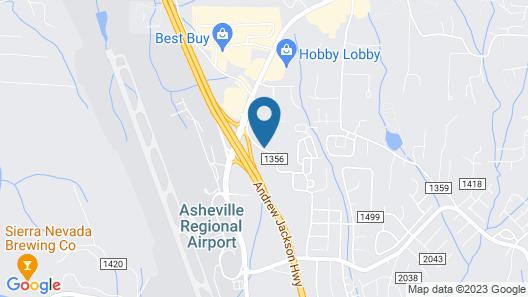 Econo Lodge Airport Map