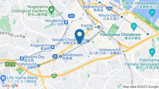 Ai Hotel Yokohama Map