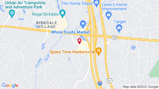 Candlewood Suites Huntersville, an IHG Hotel Map
